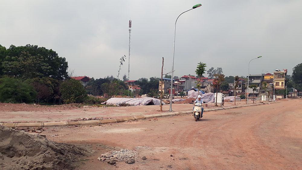 Thực hiện Dự án xây dựng khu dân cư thị trấn Cầu Gồ: Tập trung gỡ khó, đẩy nhanh tiến độ